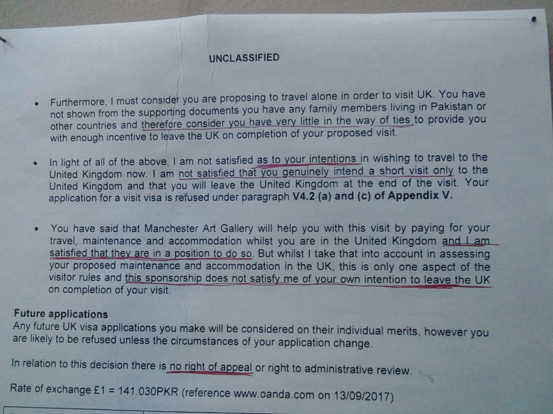 Refusal of a visit visa (2)   Acacia Publications