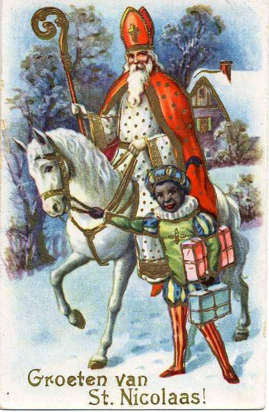 _Groeten_van_St._Nicolaas!__St._Nicholas_and_a_helper,_St._Nick_is_in_a_white_robe,_orange_cap,..._(NBY_1458)