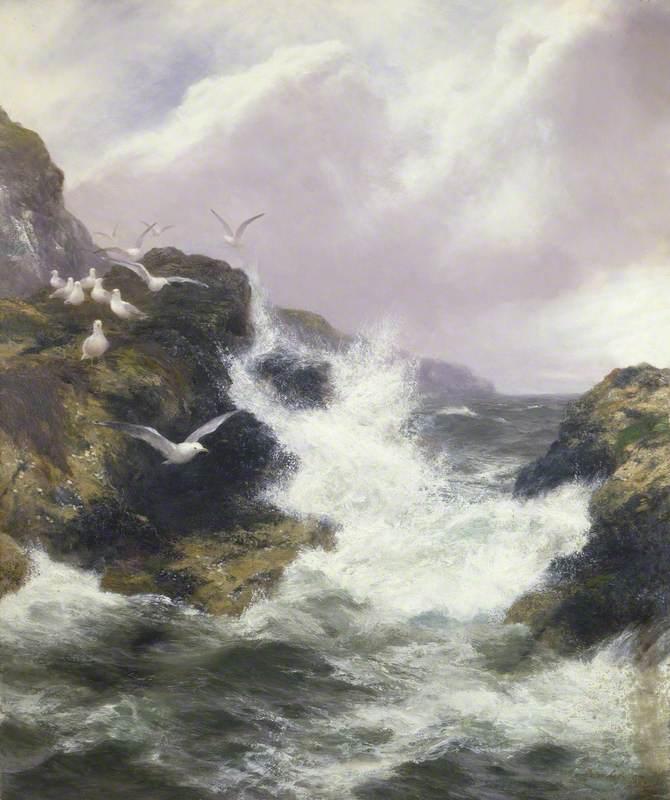 Graham, Peter, 1836-1921; The Seabirds' Domain