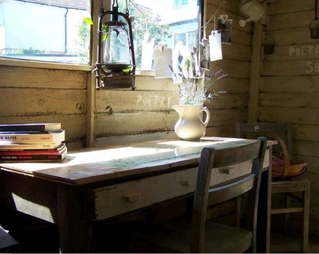 poetry shed